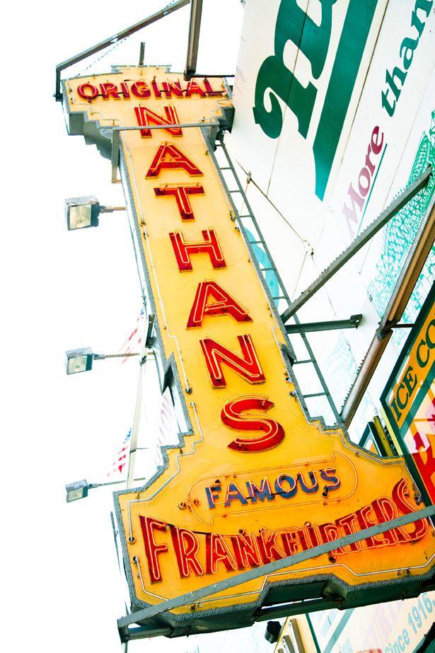 Coney Island - Nathans Hot Dogs - THE ORIGINAL