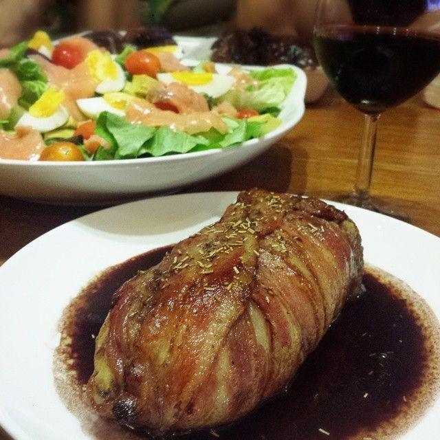 食戟のソーマに登場した「なんちゃってローストポーク」が簡単でおいしいと話題 - macaroni