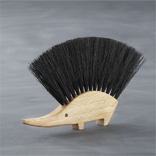 Hedgehog Crumb Brush by Redecker