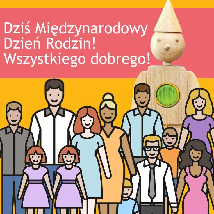 15 maja to Międzynarodowy Dzień Rodzin!