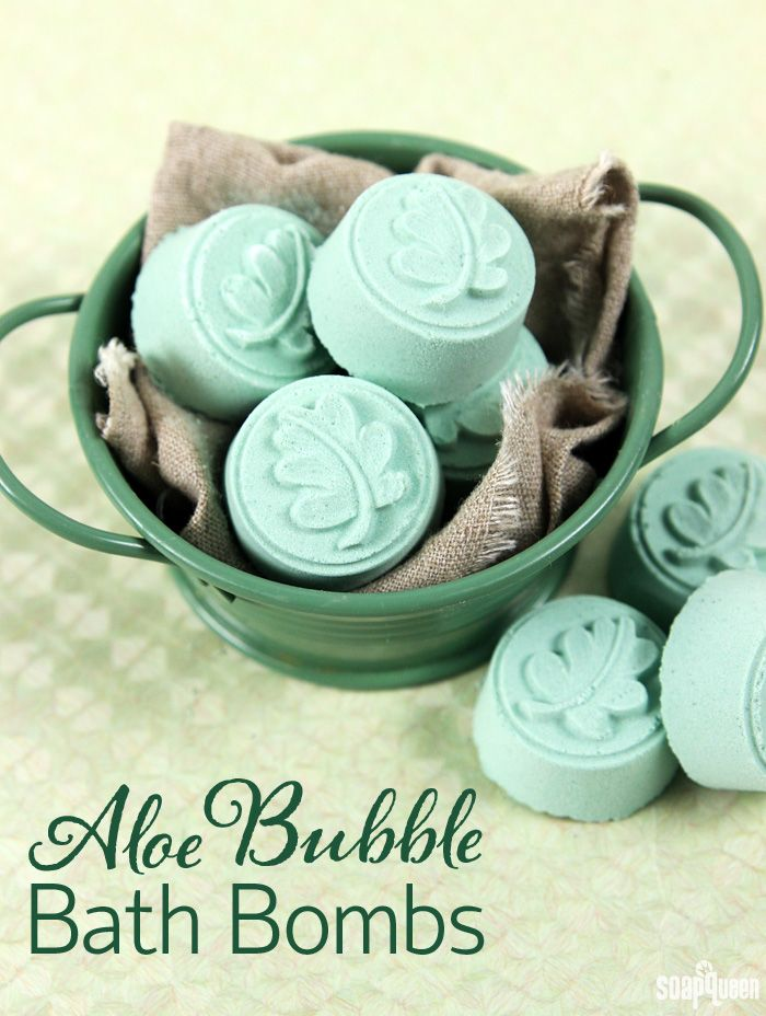 Aloe Bubble Bath Bomb Tutorial Two Leaf Wax Tart Molds 1 cup Sodium Bicarbonate (Baking Soda) 1/2 cup Citric Acid 1/2 cup Sodium Lauryl Sulfoacetate (SLSA) Irish Green La Bomb Colorant .5 oz. Aloe Extract Witch Hazel 4 mL Kentish Rain Fragrance Oil 2 mL Basmati Rice Fragrance Oil