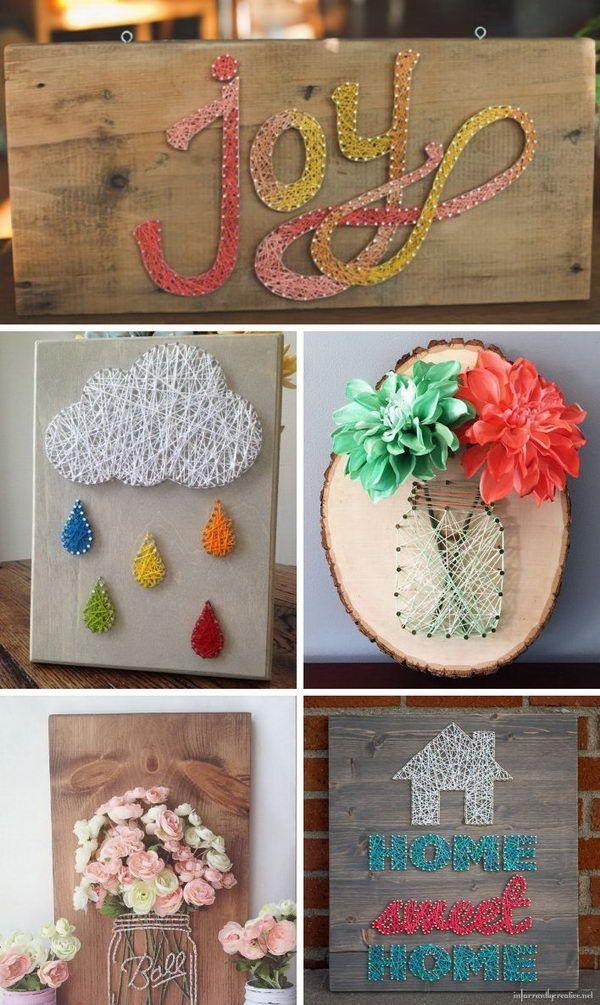 DIY String Art Ideas and Tutorials