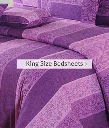 Buy King Size Bedsheets Online