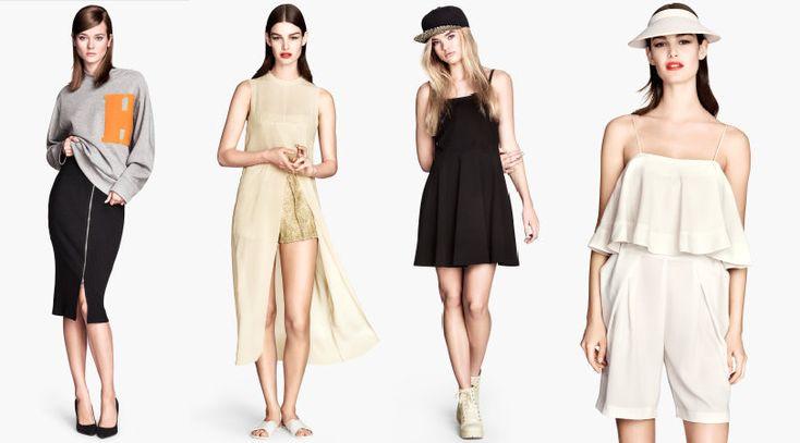 Selección Moda H&M Verano 2014. Moda Sueca
