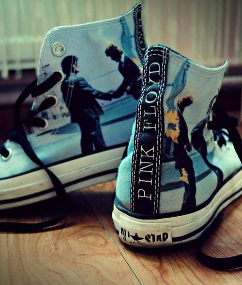 I really want these Pink Floyd shoes!