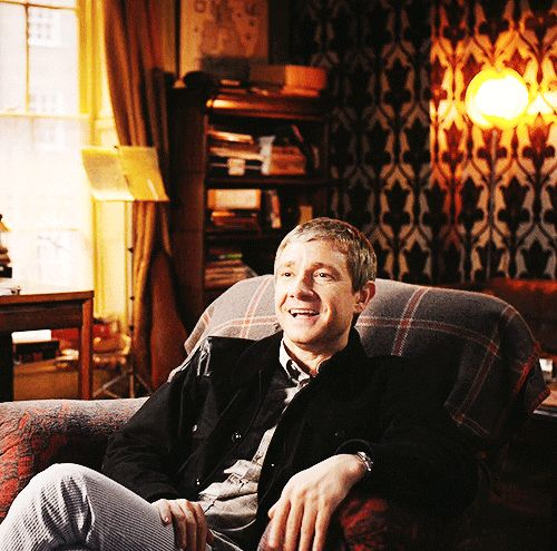 A very not-John-Watson reaction (that is pure Martin).
