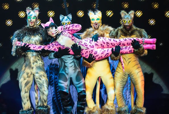 Katy Perry's Prismatic World Tour Costumes. Love her. So fun. Plus, she looks AMAZE. #SelfMagazine