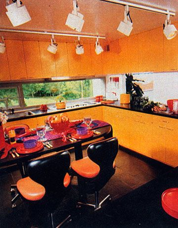 Kitchen of the 1970s