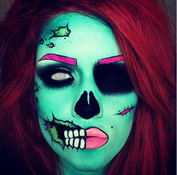 Was this Reddit user's zombie makeup tutorial stolen by Lil' Kim?