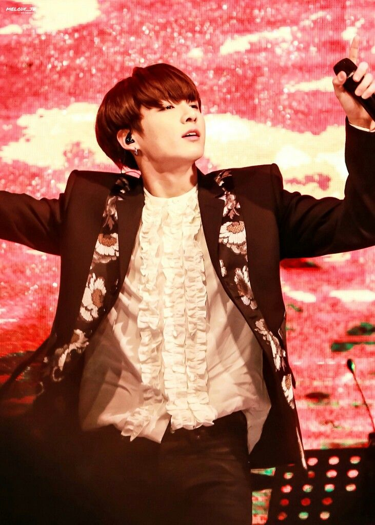 Jungkook ❤ BTS at the Geumsan County One Heart Concert / Nonsan Youth Winter Concert (161222) #BTS #방탄소년단