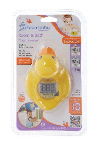 Dreambaby Badethermometer, Ente