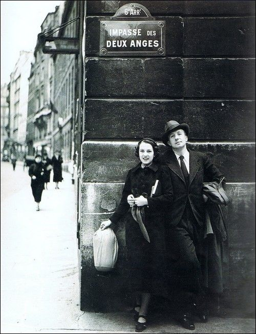 Nusch and Paul Eluard, Paris