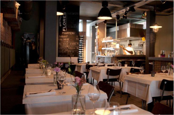 Bistro Flores in Nijmegen. Restaurant op het Kelfkensbos. Kijk op www.bistroflores.nl