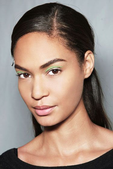 Colored Eyeliner at Michael Kors
