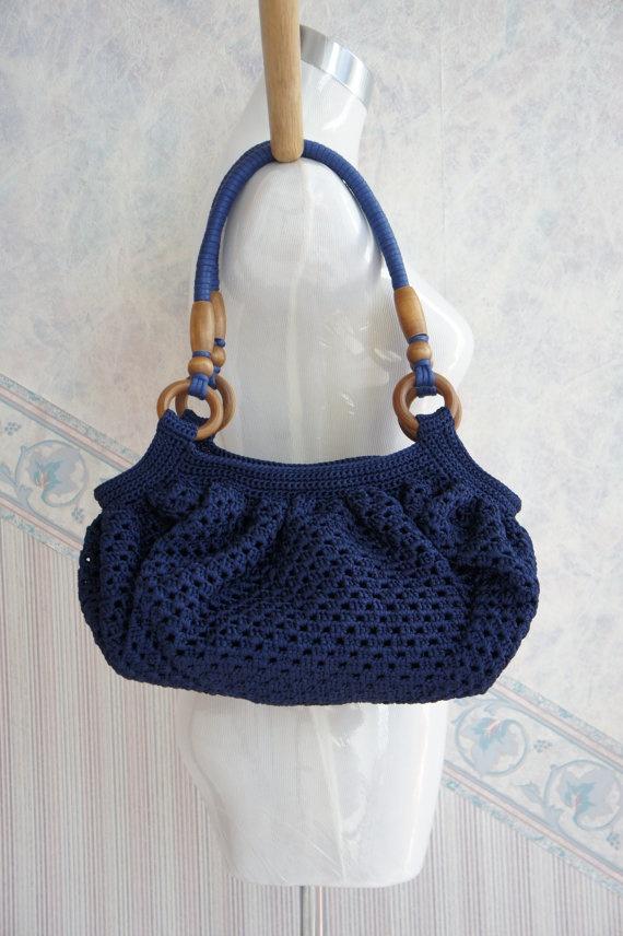 Handles For Crochet Bags : crochet bags