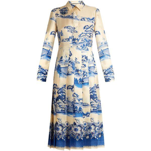 Kleid lila midi