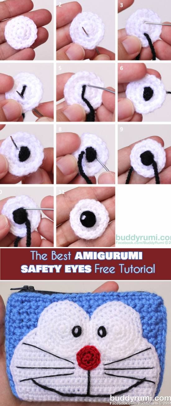 How To Make the Best Amigurumi Safety Eyes [Free Tutorial]