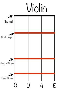 Fingering charts are essential when teaching instruments. This chart is sized to be printed on a wide format printer 13