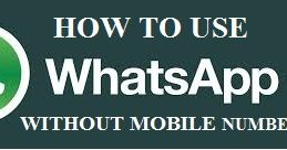 how to use whatsapp without phone number 2017, whatsapp without number verification, how to use whatsapp without sim, whatsapp without phone on pc, how to open whatsapp without verification code, whatsapp verification code email, how to add someone on whatsapp without phone number, how to create whatsapp account in mobile,How can I use WhatsApp without a phone number?, Can I use WhatsApp without a SIM card?, How can I access WhatsApp on my PC?, What is the six digit code for WhatsApp?,10…