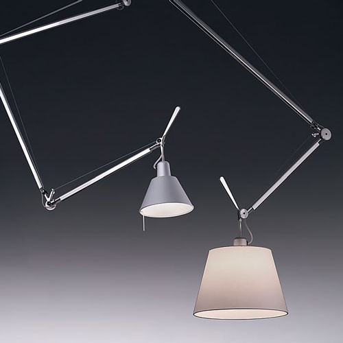 Une suspension Tolomeo d'Artemide