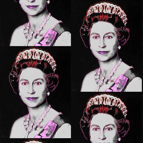 Queen Elizabeth - Neon Gray on bezar.com