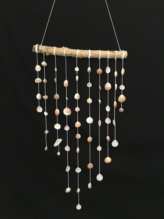 Mediterranean SeaWind chime Seashell wind chime Baby by PeriShop