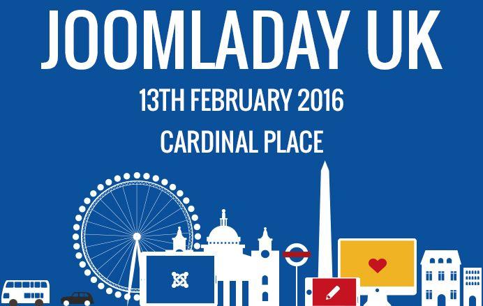 Free tickets to Joomla! Day UK (13 Feb 2016)! #JoomlaDay #UK #Free http://bit.ly/1VdGydO