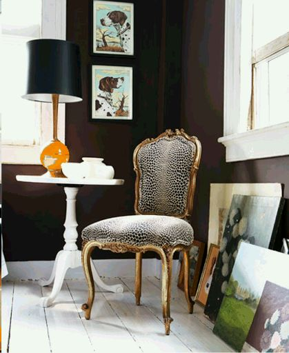 """You might call it, """"earthy elegance meets modern"""""""
