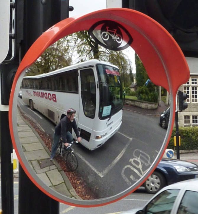 i'm in the market for a huge convex traffic mirror for my entry way
