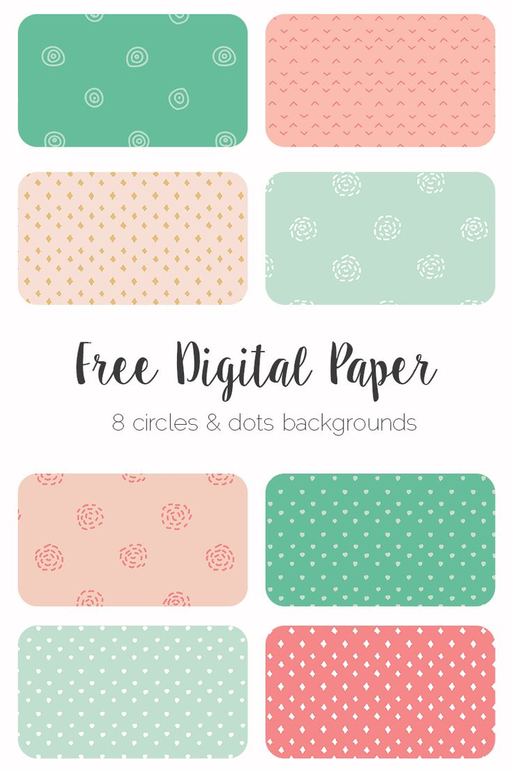 Download 8 free hand drawn digital paper sets for your blog graphics and scrapbooking projects. This set is for personal use only.