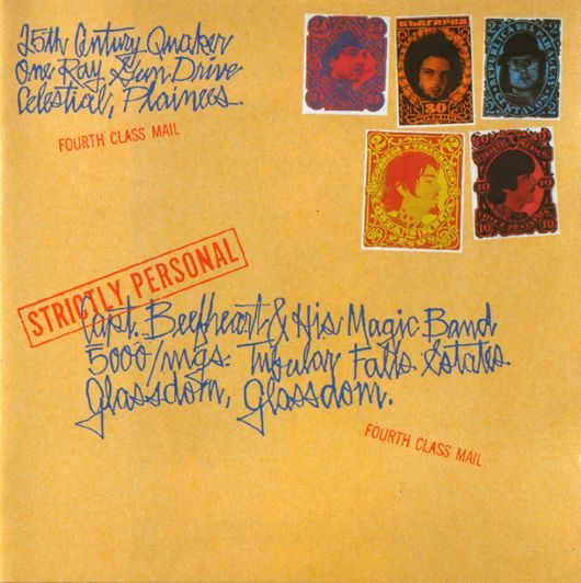 Strictly Personal often gets overlooked, but it provides signposts to the Captain Beefheart classic, Trout Mask Replica.