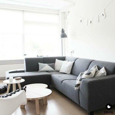 17 beste idee n over grijze bank kamers op pinterest cr me slaapkamer meubilair bank en - Ideeen deco blijven ...