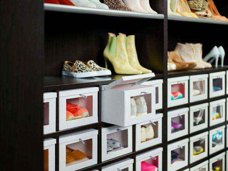 HYFS doos met deksel | #IKEA nu nog een kast voor al die dozen.....
