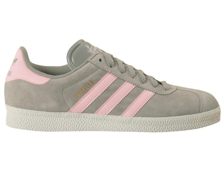Adidas Gazelle Grey \u0026 Pink