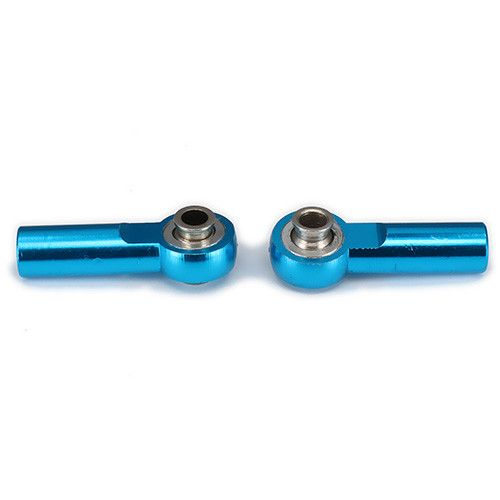 Ball Head Holder Tie Rod End 3mm Hole M4 4mm Thread 25mm Length Link Rod End For RC Hobby Model Car Upgraded Hop-Up Parts AXIAL