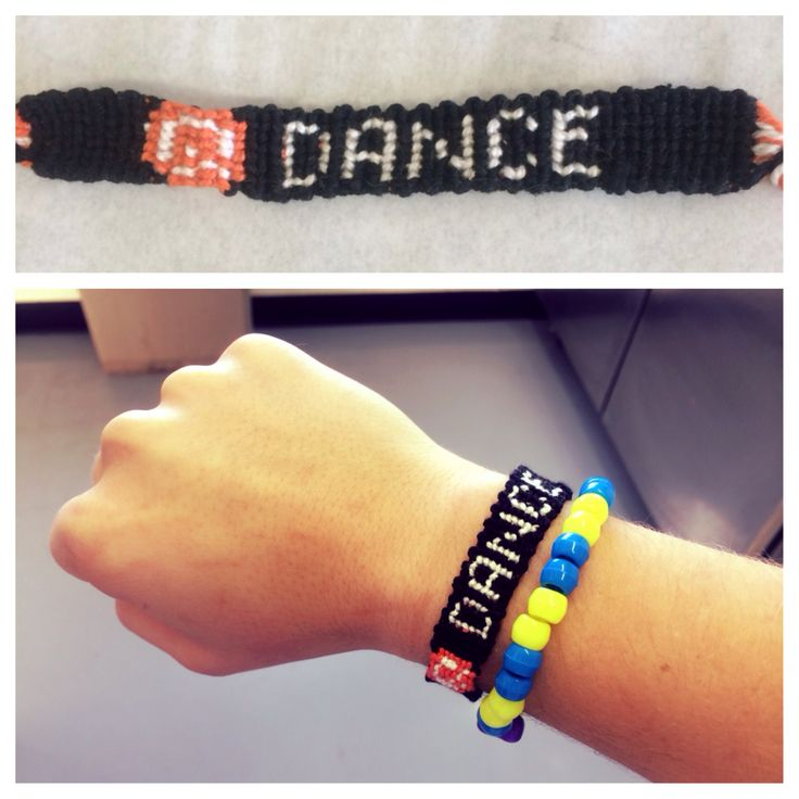 Made this q dance bracelet to wear to tomorrow world if anyone wants one