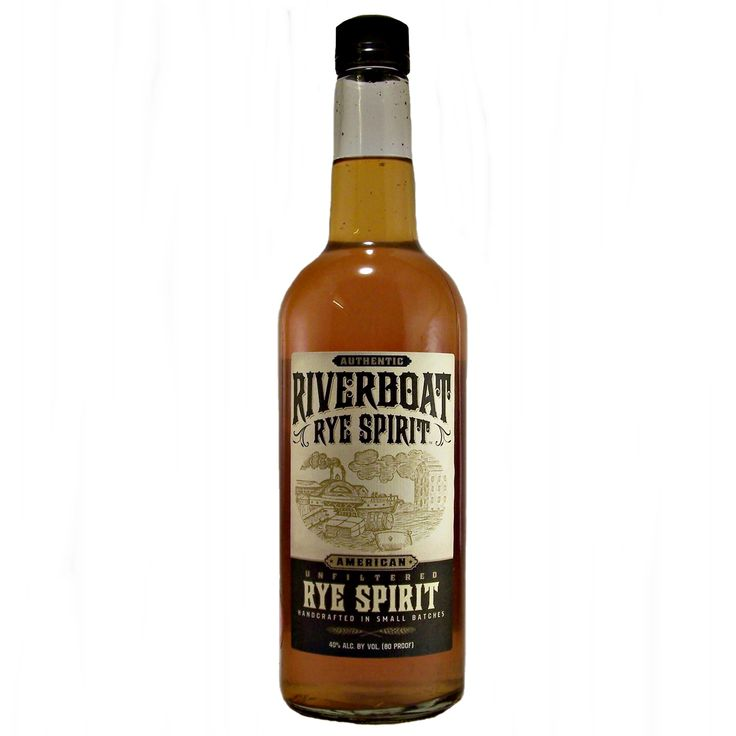 Riverboat Rye Spirit unfiltered and handcrafted in small batches available to buy online at specialist whisky shop whiskys.co.uk Stamford Bridge York