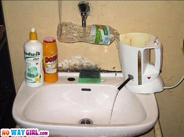 The Hot Water StruggleFunny Pictures, Water Heater, Crazy Home, Funny Stuff, Hot Water, Redneck Humor, Redneck Funny, Redneck Water, Redneck Hot