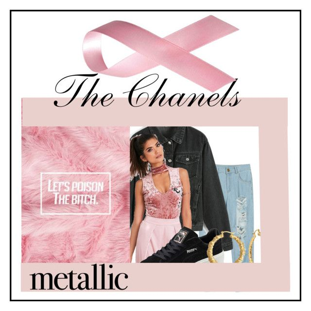 """""""The chanels inspired 2"""" by kiwijulin on Polyvore featuring WithChic, Puma and Bling Jewelry"""