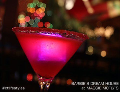 Maggie McFly's Barbie's Dream House Martini