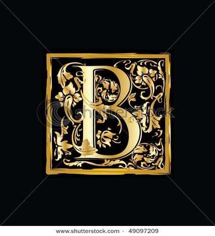 Beautiful illuminated lettering