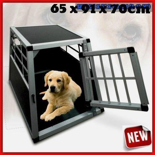 Dog Transport Cage Car Crate Pet Car Van Kennel Vehicle Travel Trip Safe House