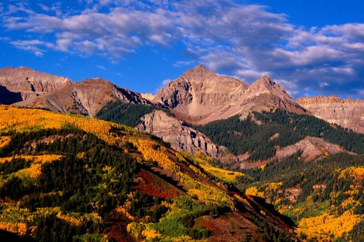 San Juan Mountains near Telluride, Colorado | American ...