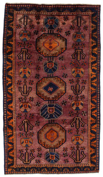 Gabbeh - Bakhtiari Persialainen matto 253x141