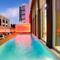 The wrap around pool at the Protea Hotel Fire!Cape Town. http://www.south-african-hotels.com/hotels/protea-hotel-fire-and-ice-cape-town/