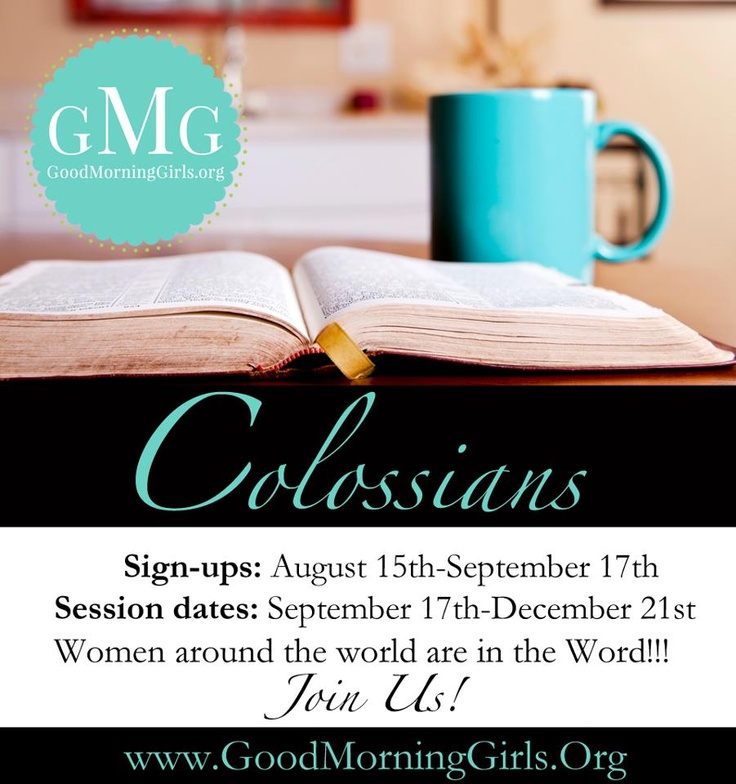 110 best bible study images on pinterest bible studies bible good morning girls online bible study invite some friends and join us starting september for our online fall bible study join me jenny and suzanne fandeluxe Images