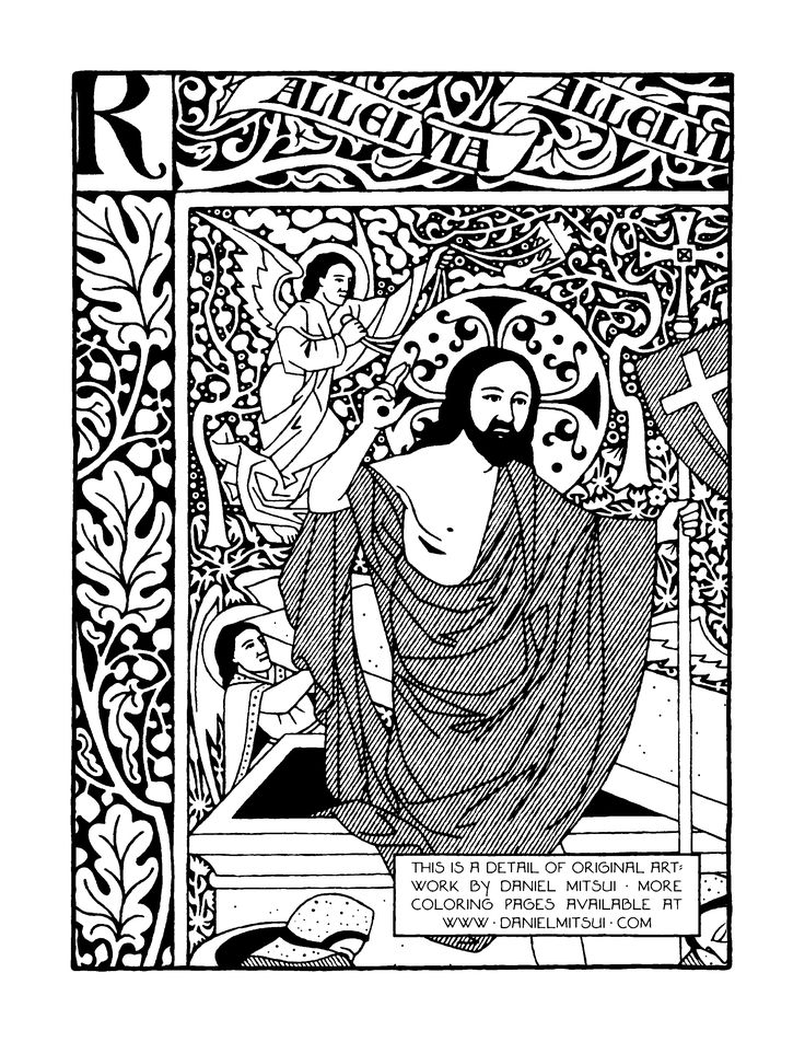 religious education coloring pages - photo#16