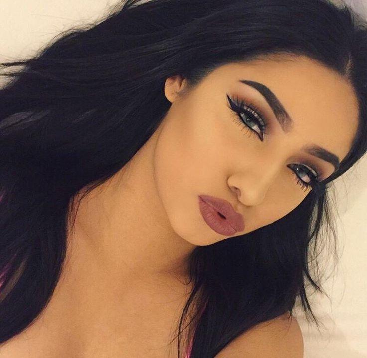 123 Best Baddie Makeup Images On Pinterest Make Up Looks