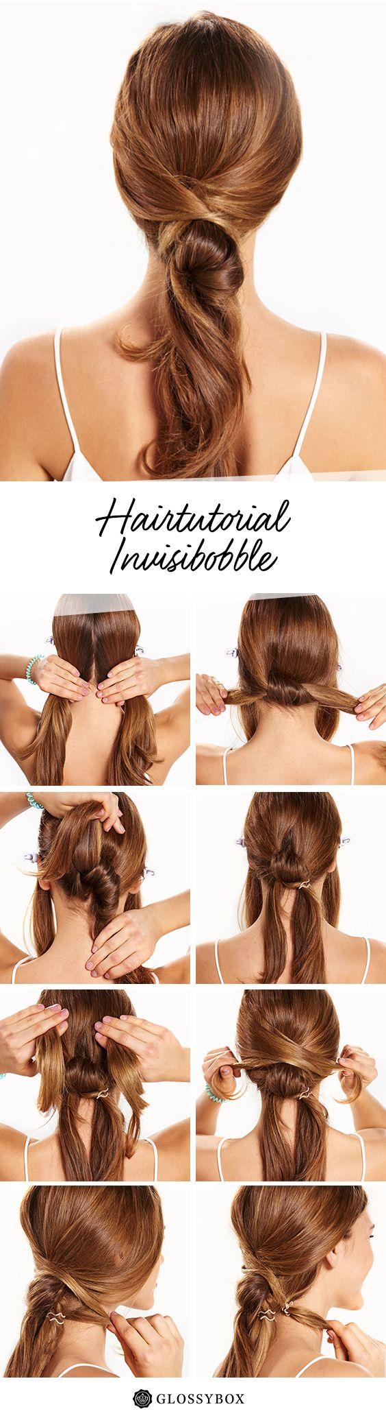 Hair, Invisibobble, Tutorial