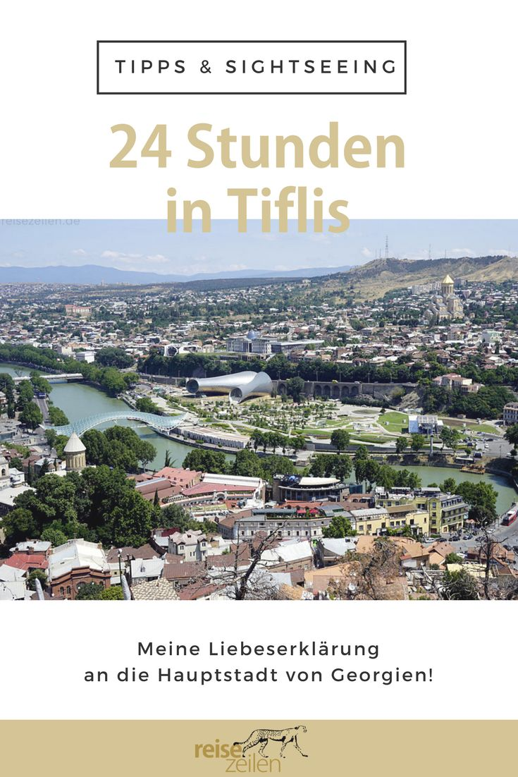 """Tiflis, die Hauptstadt von Georgien, hat mir sehr gut gefallen. Ich war sogar ziemlich überrascht vom ehemaligen """"Paris des Ostens""""."""